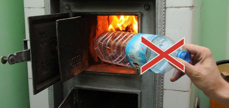 Nie pal śmieci, nie truj siebie i dzieci.