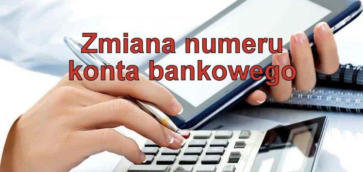 Zmiana numerów kont bankowych MEC Piła.